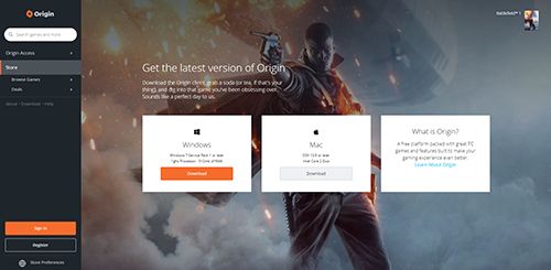 Download Origin Client