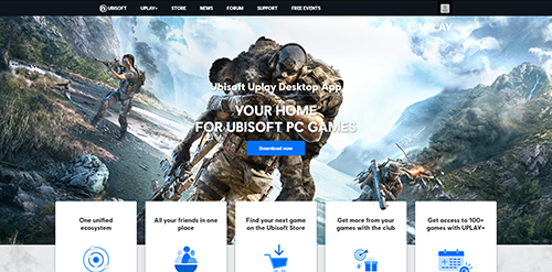 Download Uplay Client Page